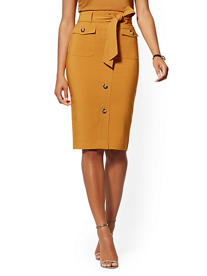 Safari Skirt - 7th Avenue - New York & Company