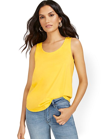 Scoopneck Perfect Tank - New York & Company