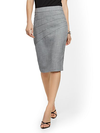 Seamed Pencil Skirt - 7th Avenue - New York & Company