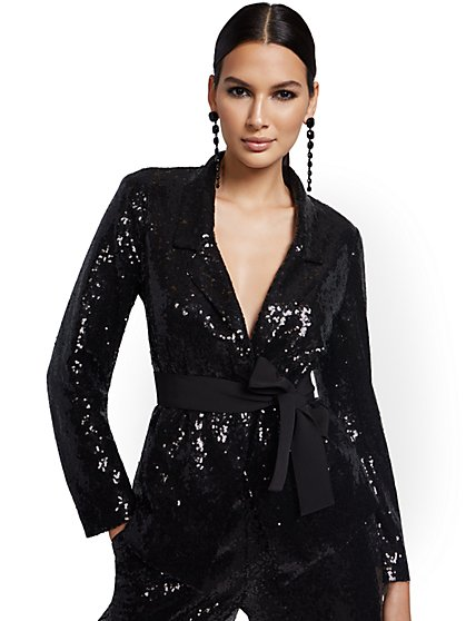 Sequin Blazer - New York & Company