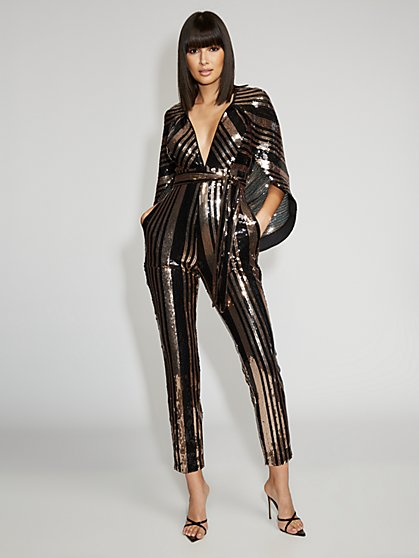 Sequin Jumpsuit - Gabrielle Union Collection - New York & Company