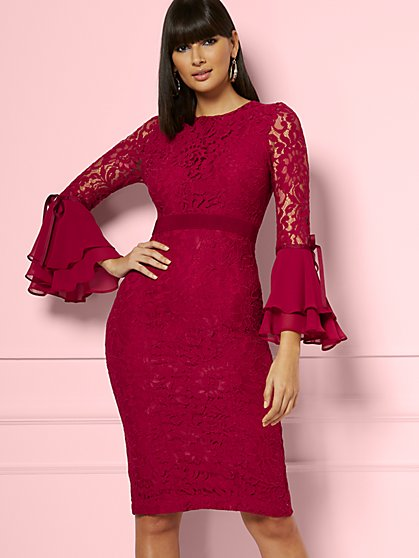 Seraphina Lace Sheath Dress - Eva Mendes Fiesta Collection - New York & Company