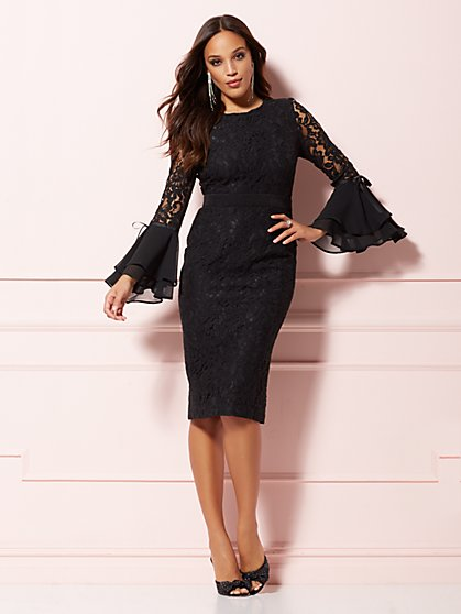 984997b0f3 Seraphina Lace Sheath Dress - Eva Mendes Party Collection - New York    Company ...