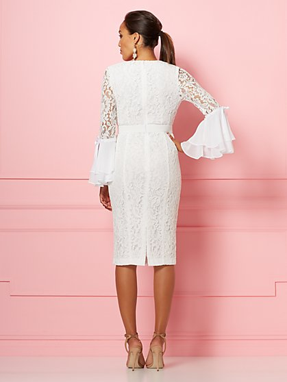 f6a8b464e99 ... Seraphina Lace Sheath Dress - Eva Mendes Party Collection - New York    Company