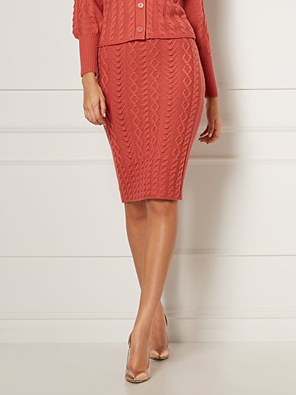 Shania Sweater Skirt - Eva Mendes Collection - New York & Company