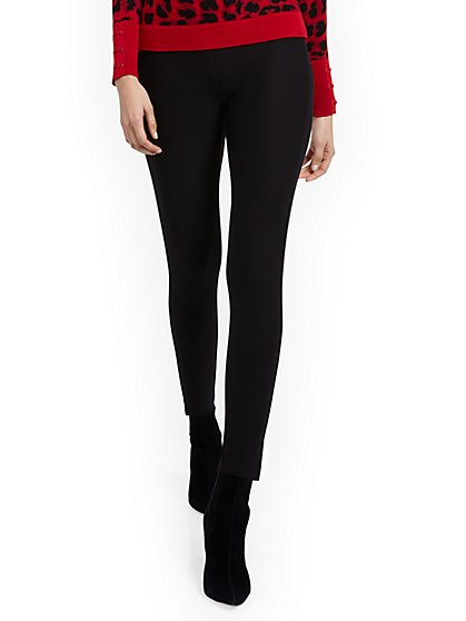 Shape-Lifting Ponte Pant - New York & Company