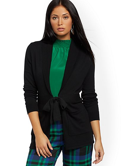 Shawl-Collar Cardigan - 7th Avenue - New York & Company