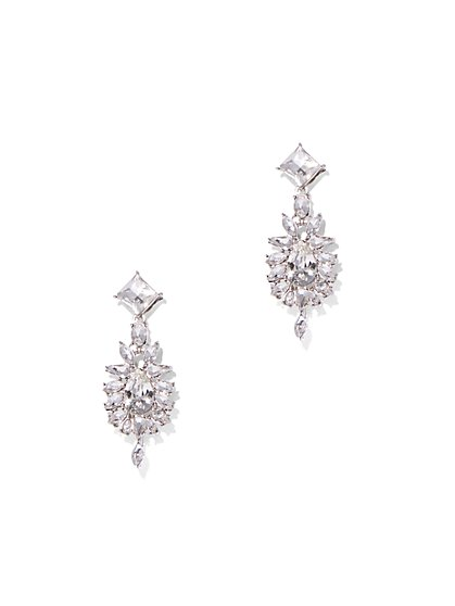 Shimmering Drop Earring - New York & Company