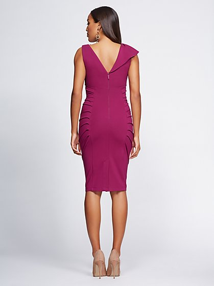 811b1a48841 ... Shirred Sheath Dress - Gabrielle Union Collection - New York   Company  ...