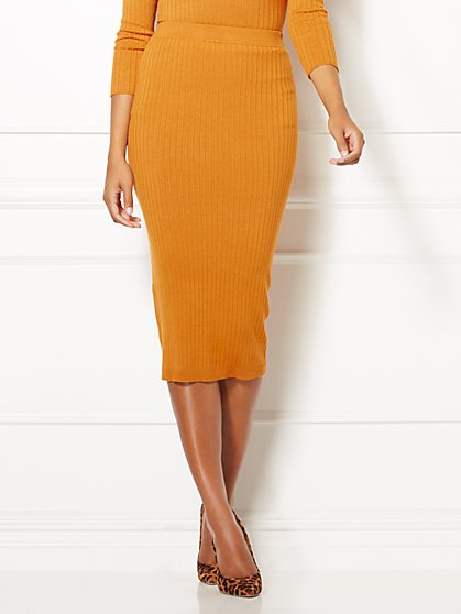 Shonda Sweater Skirt - Eva Mendes Collection - New York & Company