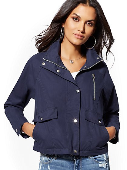 Short Anorak Jacket - New York & Company