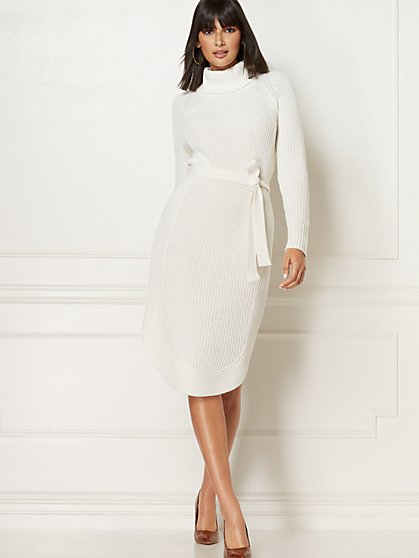 Sicily Sweater Dress - Eva Mendes Collection - New York & Company