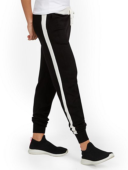 Side-Stripe Jogger Pant - New York & Company