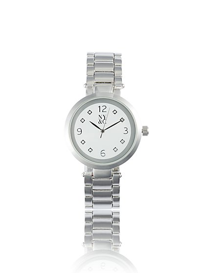 Silvertone Link Watch - New York & Company