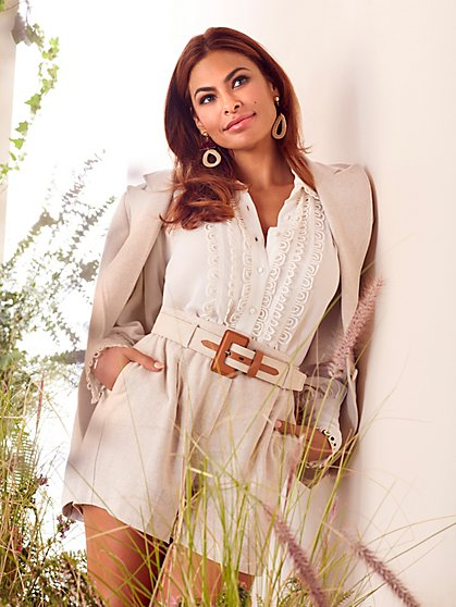 Skye Linen Jacket - Eva Mendes Collection - New York & Company