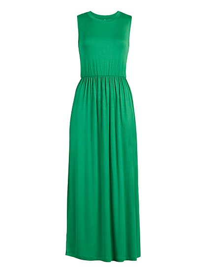 "Sleeveless ""Goddess"" Maxi Dress - New York & Company"