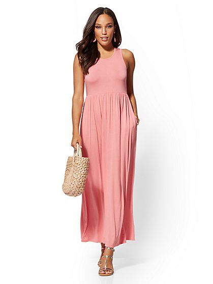 Sleeveless Maxi Dress - Soho Street - New York & Company