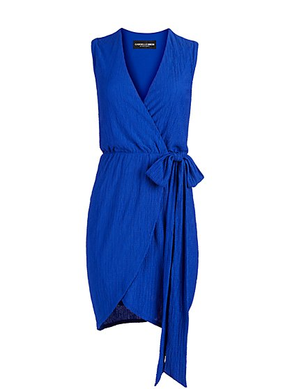 Sleeveless Wrap Dress - Gabrielle Union Collection - New York & Company