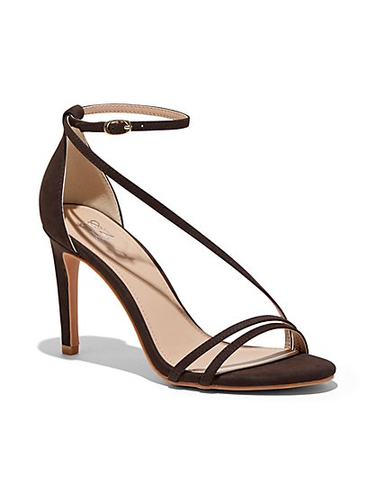 Slim-Strap High-Heel Sandal - New York & Company