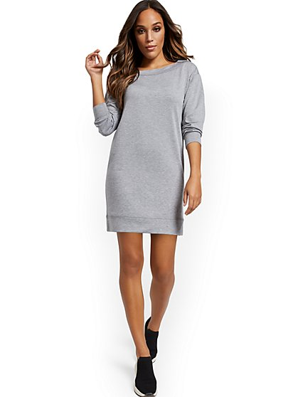 Slouch Sweatshirt Dress - New York & Company