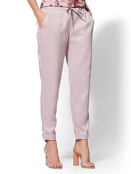 Soft Ankle Pant - New York & Company