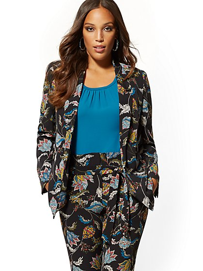 Soft Madie Blazer - Paisley - 7th Avenue - New York & Company