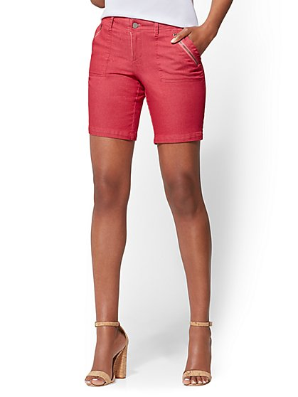 Soho Jeans - 9-Inch Bermuda Short - New York & Company