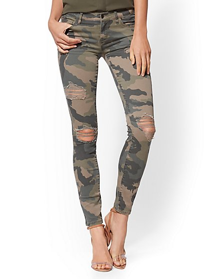 Soho Jeans - NY&C Runway - Legging - Camo - New York & Company