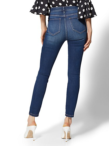 a7096fd6f60 ... Soho Jeans - NY C Runway - Ultimate Stretch - High-Waist Ankle Legging  - Nighttime ...