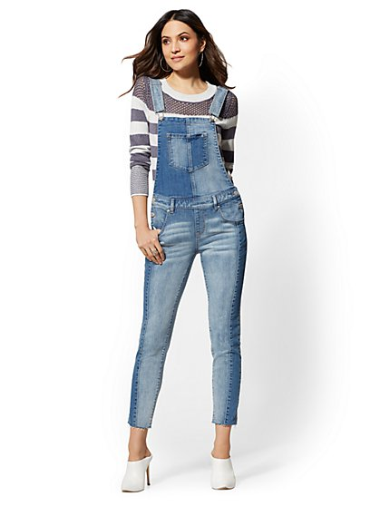 Soho Jeans - Overall - Wilderness Blue - New York & Company
