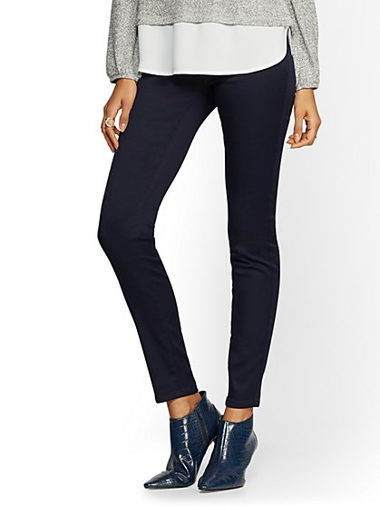 Soho Jeans - Pull-On High-Waist Legging - New York & Company