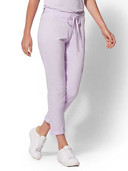 "Soho Street - ""Love"" Boyfriend Pant - New York & Company"