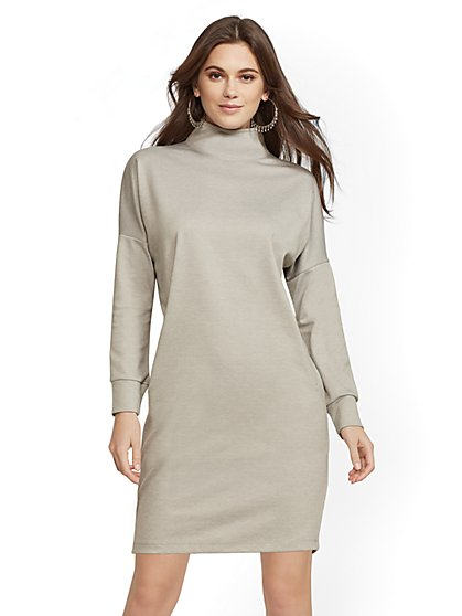 Soho Street - Ponte Shift Dress - New York & Company