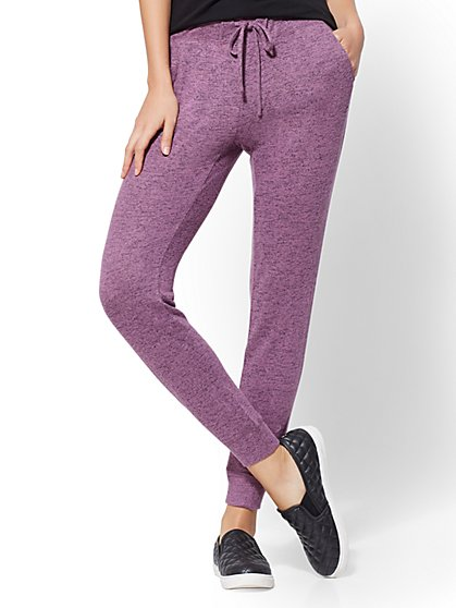 Soho Street - Super-Soft Knit Slim Jogger - New York & Company