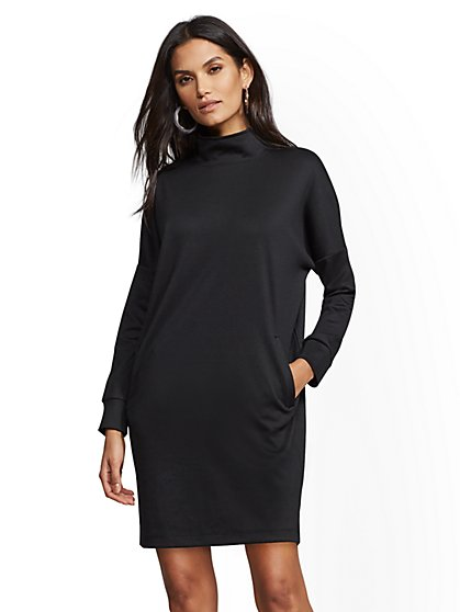 Soho Street - Sweatshirt Shift Dress - New York & Company