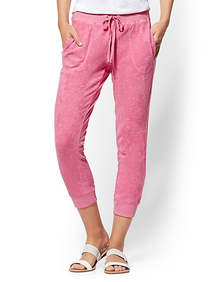Soho Street - Terry Jogger Pant - New York & Company