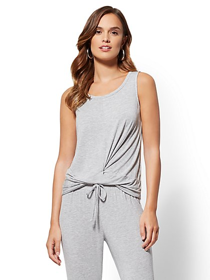 Soho Street - Twist-Front Tank Top - New York & Company