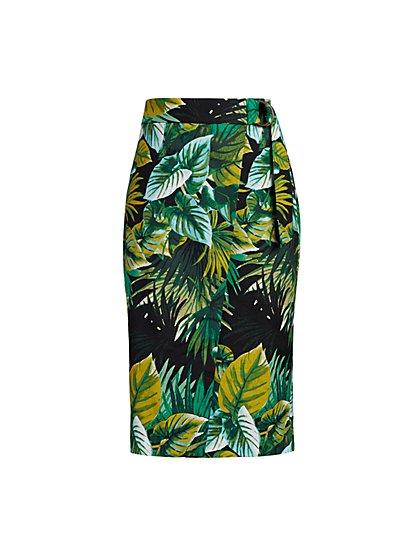 Sora Wrap Skirt - Eva Mendes Collection - New York & Company