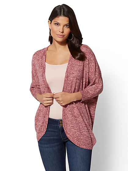 Space-Dye Cardigan - New York & Company