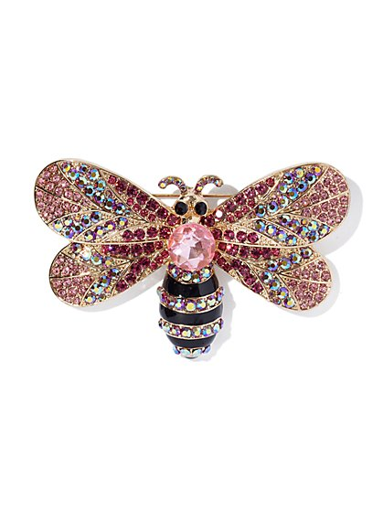 Sparkling Butterfly Brooch - New York & Company