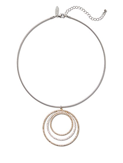 Sparkling Collar Pendant Necklace - New York & Company