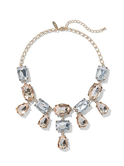 Sparkling Goldtone Statement Necklace - New York & Company