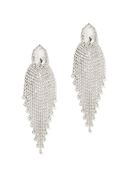 Sparkling Statement Drop Earring - New York & Company