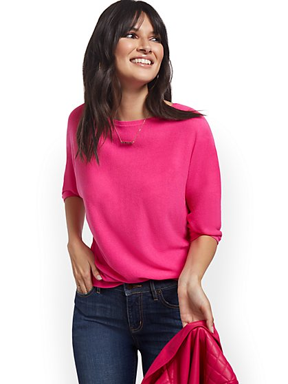 Spring Dolman Sweater - New York & Company