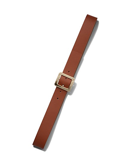 Square-Buckle Belt - New York & Company