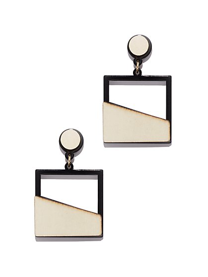 Square Drop Earring - New York & Company