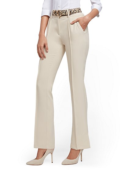Straight-Leg Pant - 7th Avenue - New York & Company