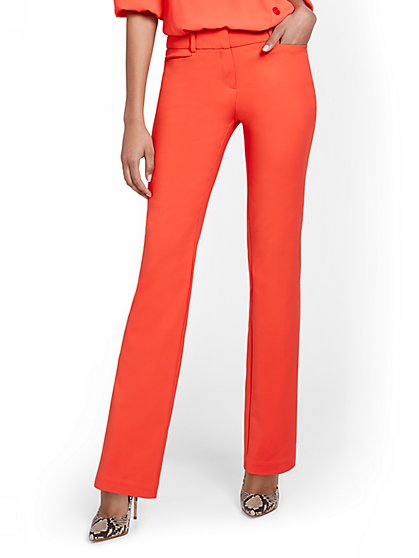 Straight-Leg Pant - All-Season Stretch - 7th Avenue - New York & Company