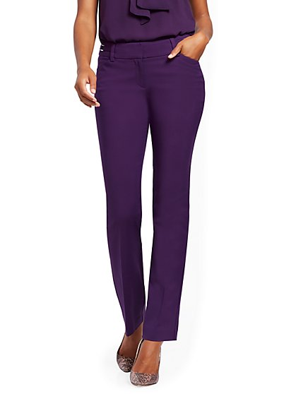 Straight-Leg Pant - Modern - All-Season Stretch - 7th Avenue - New York & Company