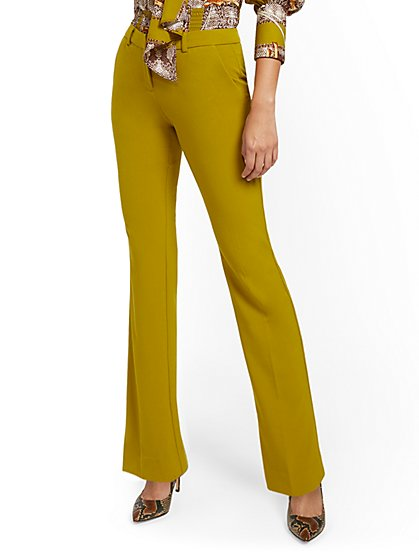 Straight-Leg Pant - Modern - Double Stretch - 7th Avenue - New York & Company
